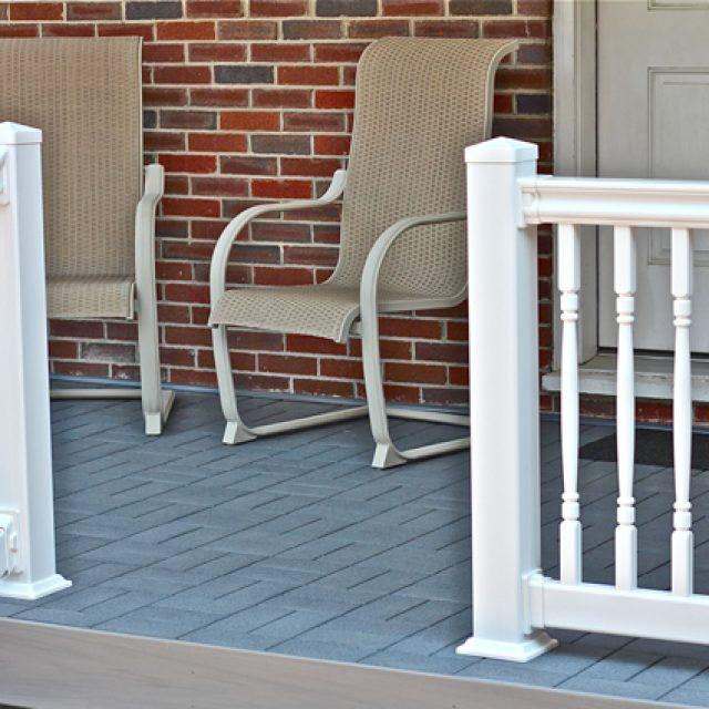 Porch Pavers 4