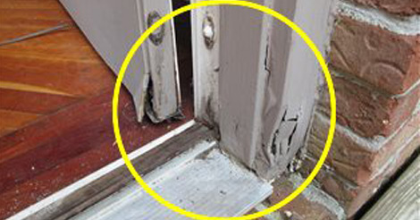 Rot in Door Frame