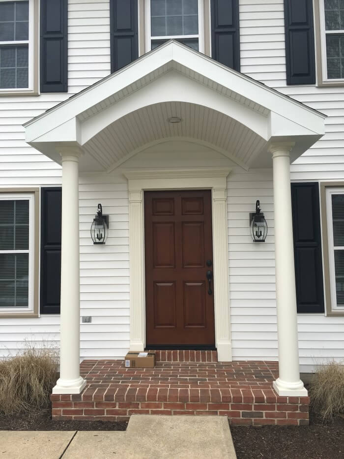 Front Porch Addition Millersville Pa Eby Exteriors Inc