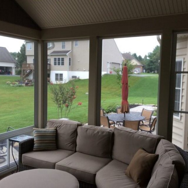 Brownstown, Eby Screened Porch