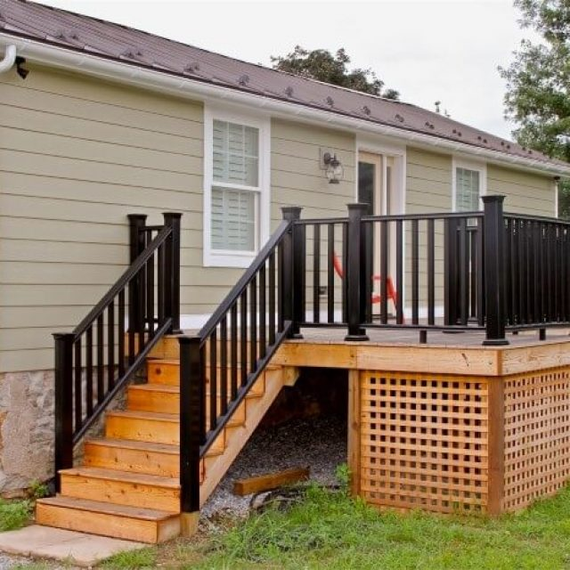 Micken Exterior Renovation Porch