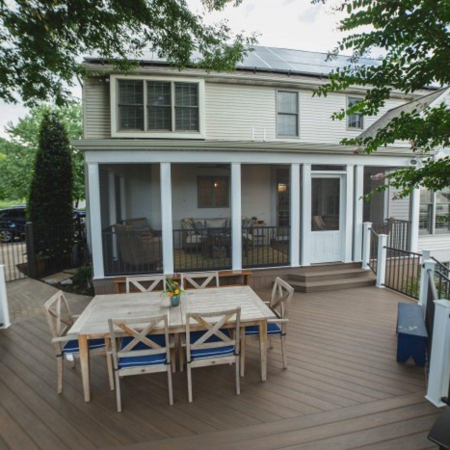 Marshall – Screened Porch & Deck