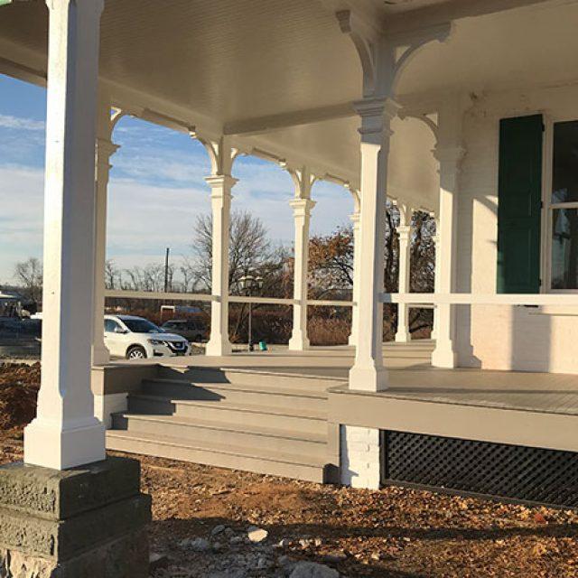 Mayer Mansion Exterior Renovation