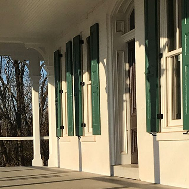 Mayer Mansion Porch Renovation