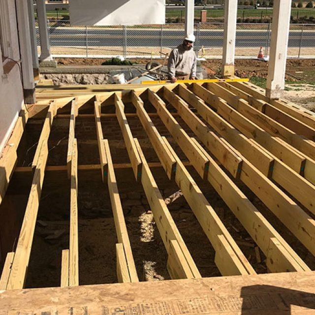Porch Construction