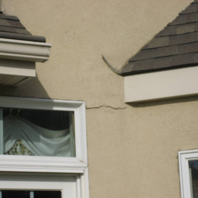 Home in need of Stucco Repairs