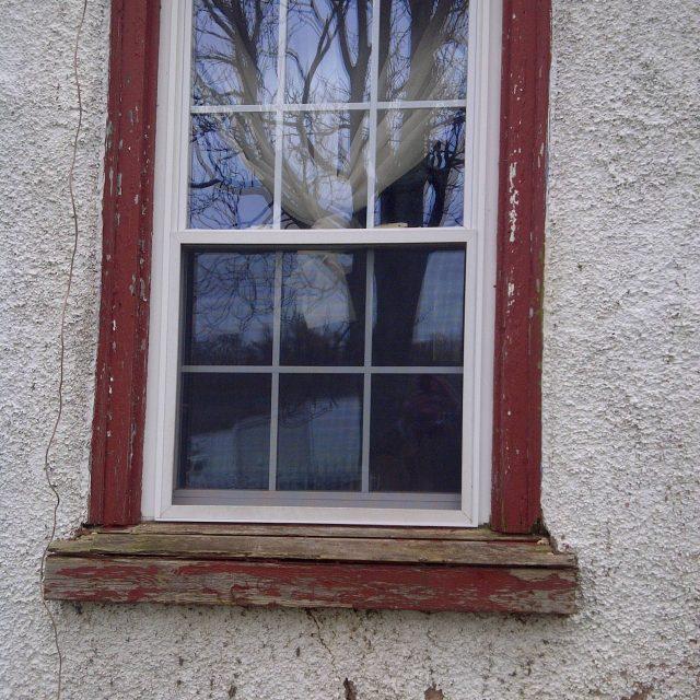 Repairs needed on window
