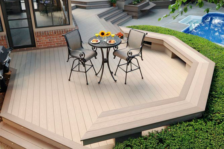 Deck Installation Cost Estimated Decking Prices For Wood Composite