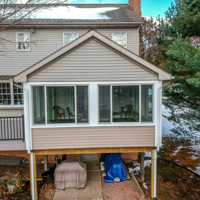 back porch renovation in lancaster county pa