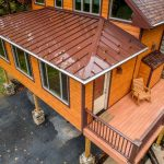 grantville deck renovation with 4 season room