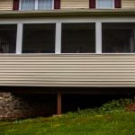 screened porch using existing deck foundation in york pa