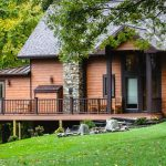 beaitful rustic home exterior remodel grantville pa