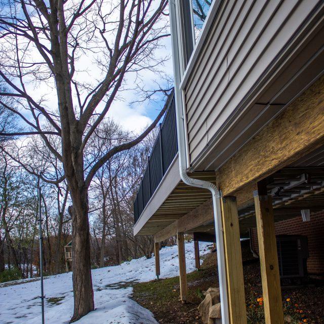 backyard deck renovation in lancaster pa