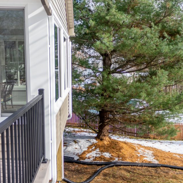 backyard sunroom and deck addition lancaster county pa