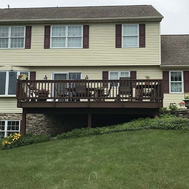 deck replacement with sunroom addition in york pa