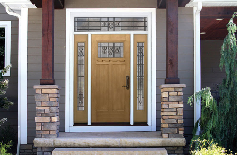 craftsmen front door design