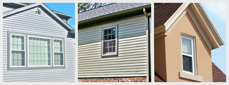 Multiple siding solutions by Lancaster County siding contractors