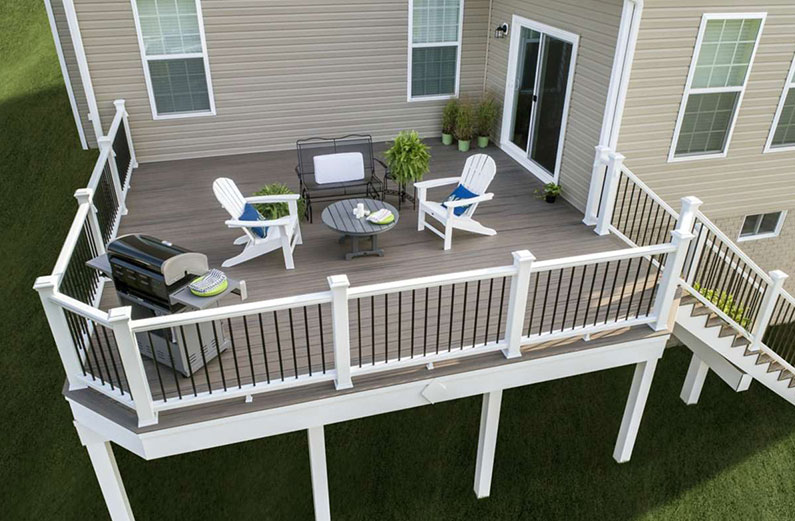 Deck Color Schemes Popular Deck Color Trends For Your House,What Is A Coastal Living Room
