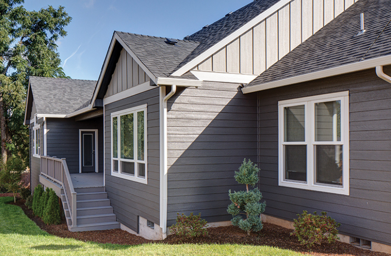 types of composite wood exterior siding