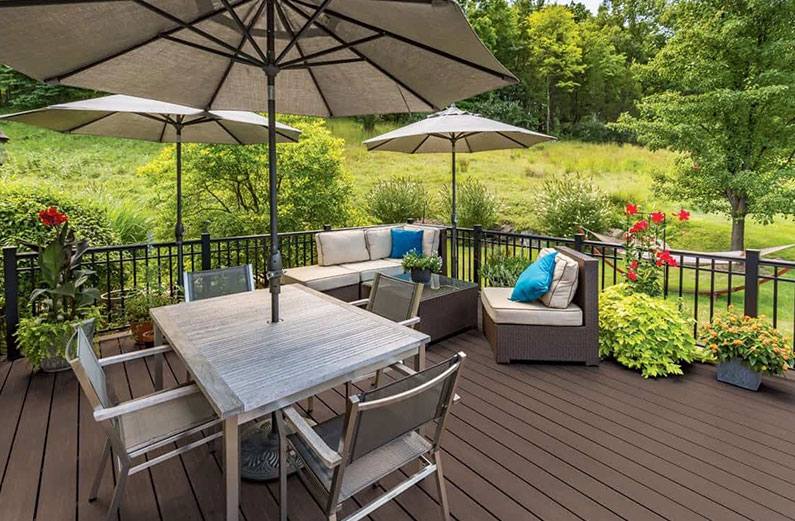 types of outdoor living spaces