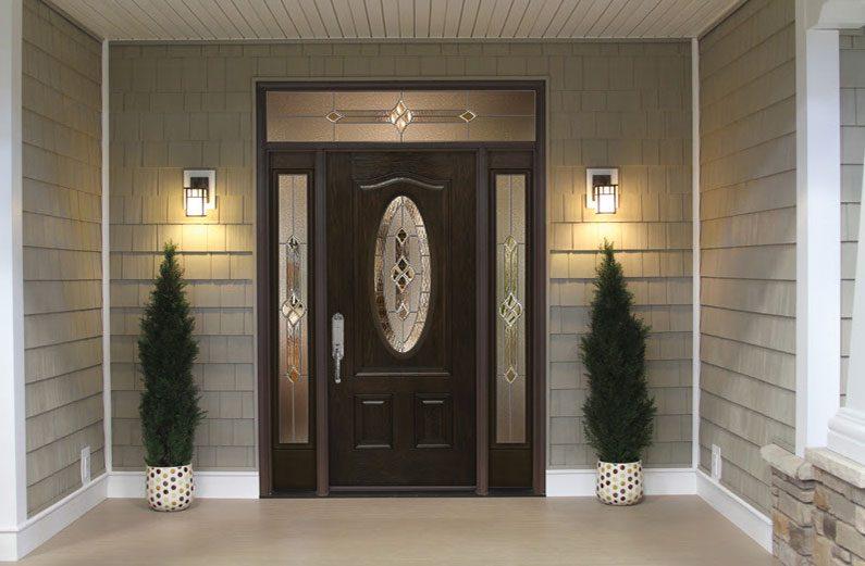 new fiberglass entry door