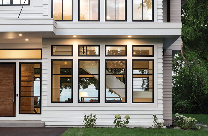 decorative fiberglass windows