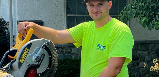 Eby Exteriors Employee Spotlight: Evan Kane