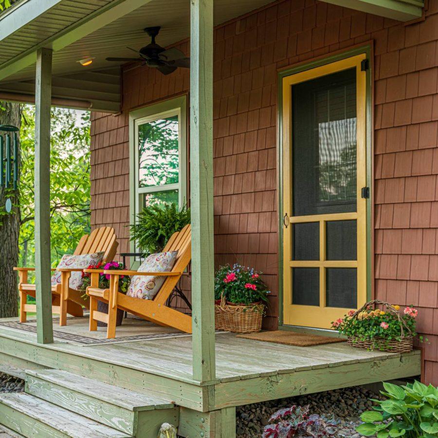 New Cabin Siding & Entry Door – Reinholds, PA