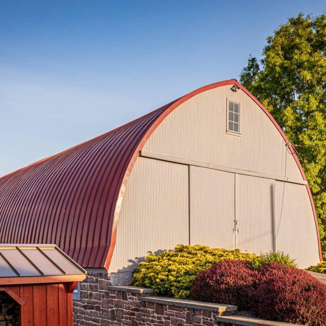 barn with sliding doors