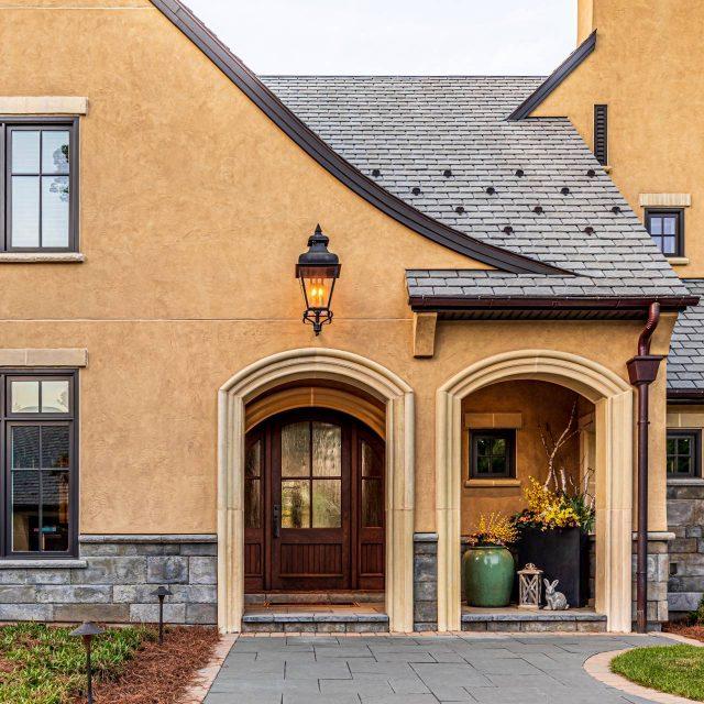 exterior renovation project