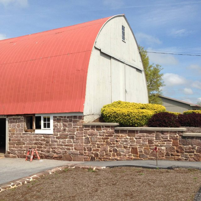 old barn in need of an exterior renovation