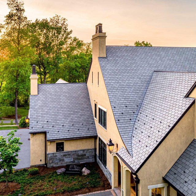 slate grey roof shingles
