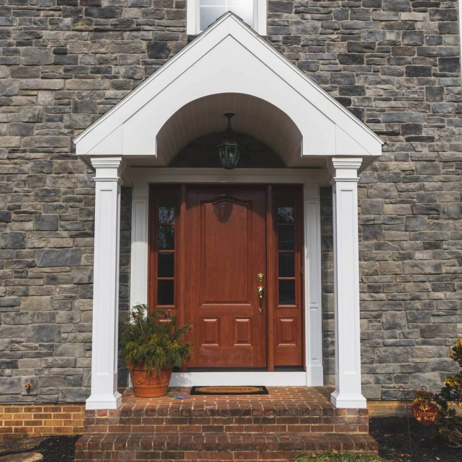 Aho Stucco Remediation, Facade Renovation, Front Entry Door – Lancaster, PA – AWARD WINNING PROJECT